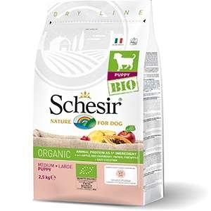 Schesir Bio Organic, Puppy Medium / Large al Gusto Pollo