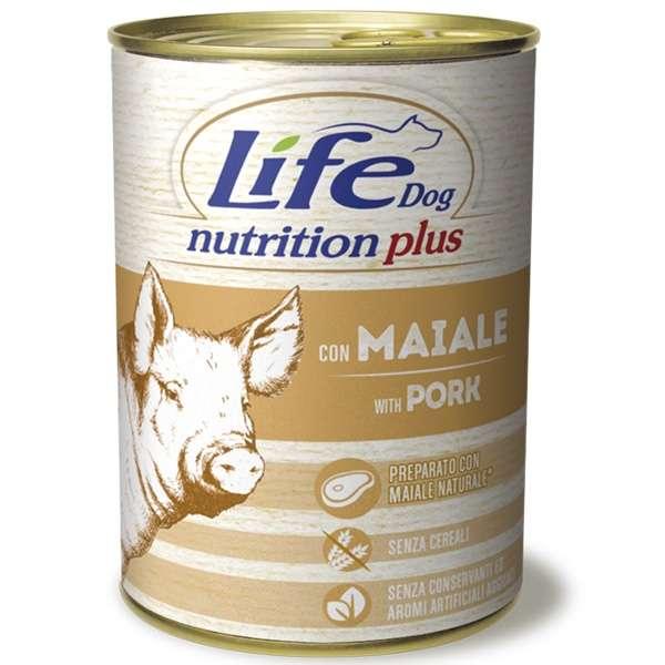 Life Dog Nutrition Plus Maiale
