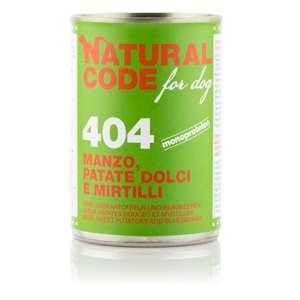 For Dog 404 Manzo, Patate Dolci e Mirtilli