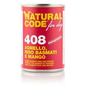 For Dog 408 Agnello, Riso Basmati e Mango