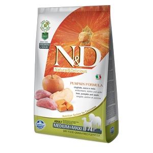 Natural & Delicious Pumpkin Grain Free Adult Medium & Maxi con Cinghiale, Zucca e Mela