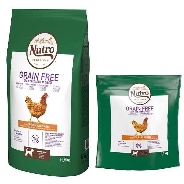 Dog Grain Free Medium con Pollo