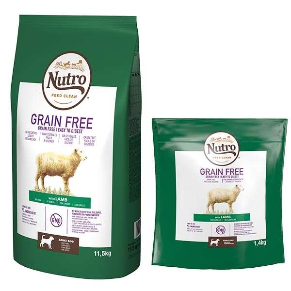 Dog Grain Free Medium con Agnello