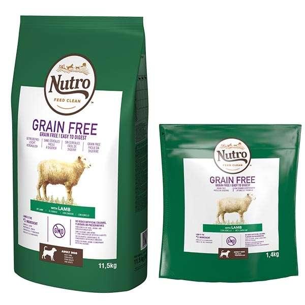 Dog Grain Free Medium con Agnello