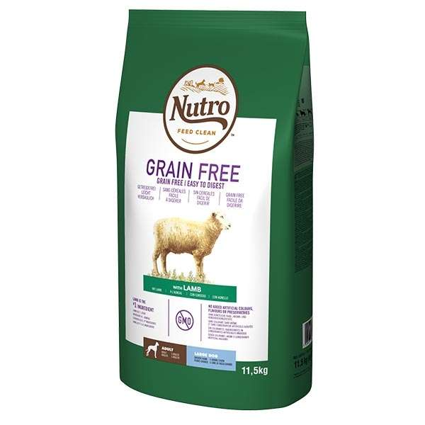 Dog Grain Free Large con Agnello