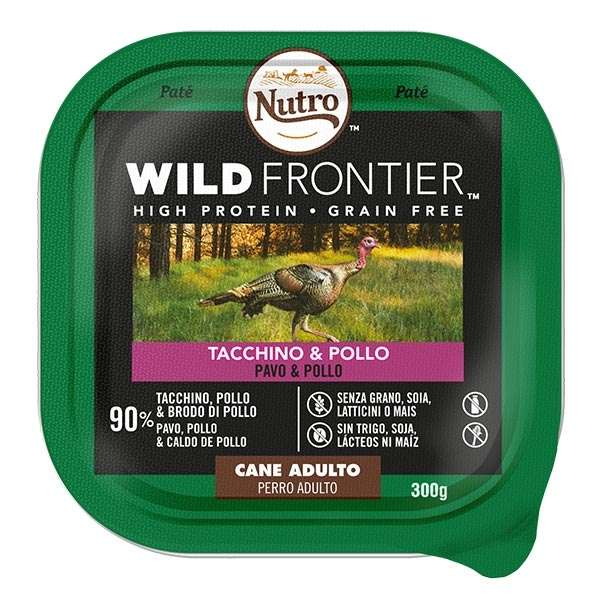 Dog Wild Frontier con Tacchino e Pollo
