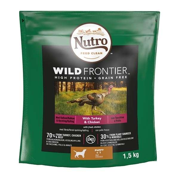 Dog Wild Frontier Junior Pollo e Tacchino
