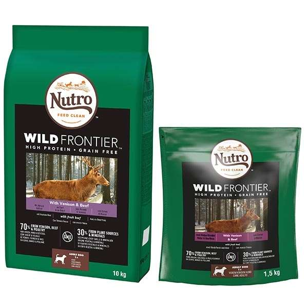 Dog Wild Frontier Medium Cervo e Manzo