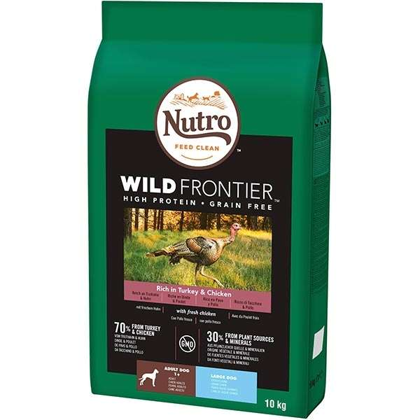 Dog Wild Frontier Large Pollo e Tacchino