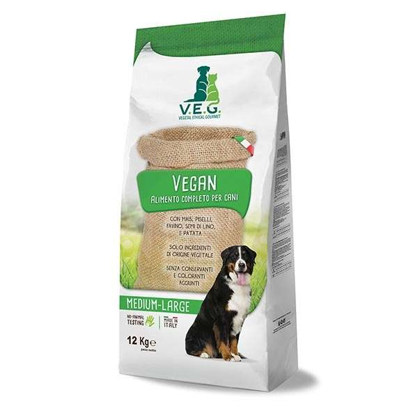 Vegan Dog Adult Medium & Large