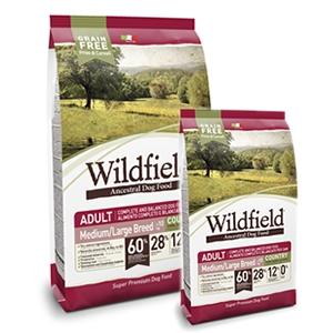 WildField Grain Free Country Adult Medium & Large Breed Maiale, Coniglio e Uova