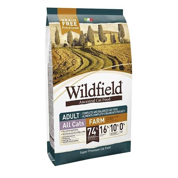 WildField Grain Free Farm Pollo, Anatra e Uova