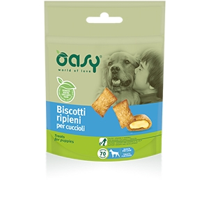 Snack Biscotti Ripieni per Cuccioli