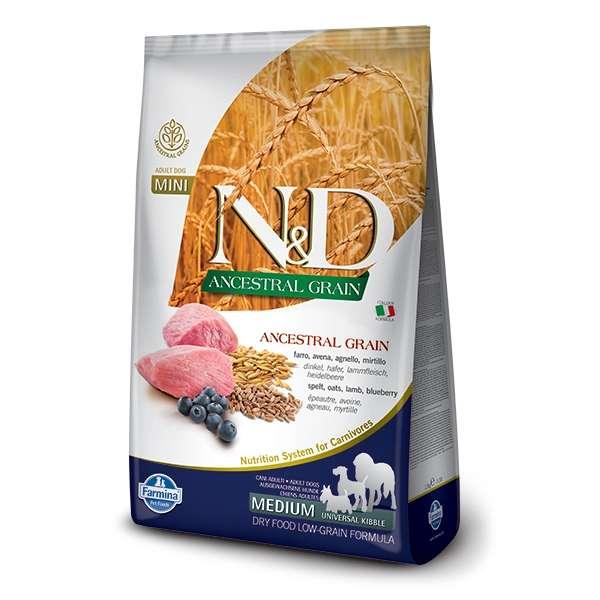 Natural & Delicious Low Ancestral Grain Adult Medium & Maxi con Agnello e Mirtillo