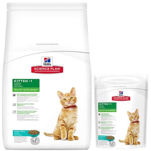 Science Plan Kitten Healthy Development con Tonno