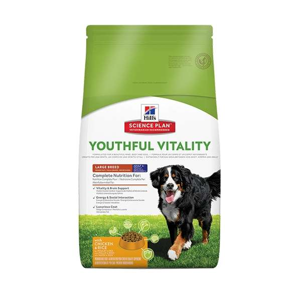 Science Plan Adult 5+ Youthful Vitality Large Breed con Pollo e Riso