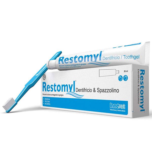 Restomyl - Dentifricio + Spazzolino