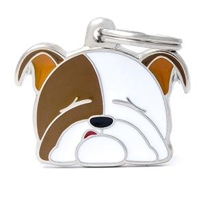 Medaglietta Friends Bulldog Inglese