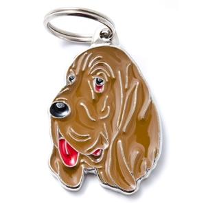 Medaglietta Friends Bloodhound