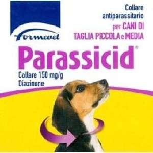 Parassicid - Collare antiparassitario per cani