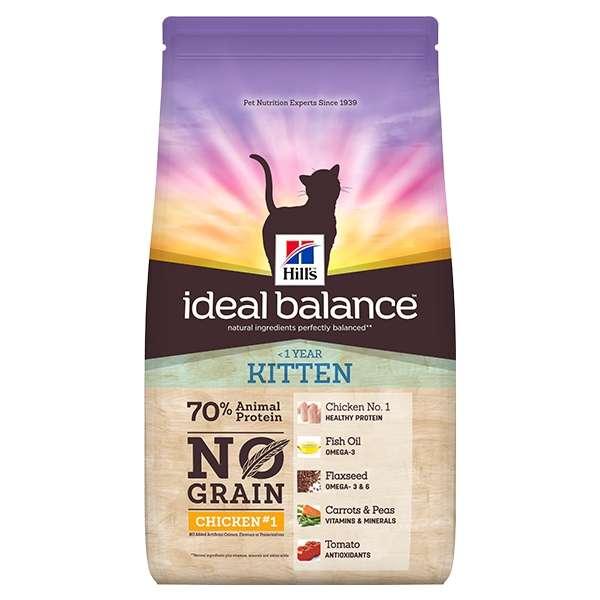 Ideal Balance Feline Kitten No Grain Pollo e Patate