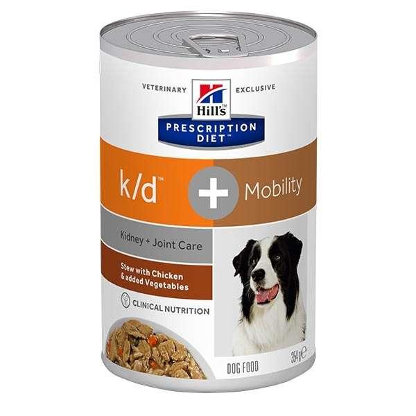Prescription Diet Stew k/d + Mobility con Pollo e Verdure