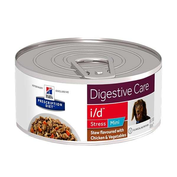 Prescription Diet Stew i/d Digestive Care Stress Mini con Pollo e Verdure