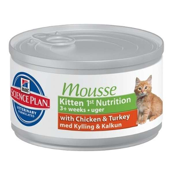 Science Plan Kitten Mousse con Pollo e Tacchino