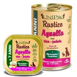 Rustico Agnello con Riso e Patate per Cani 7+