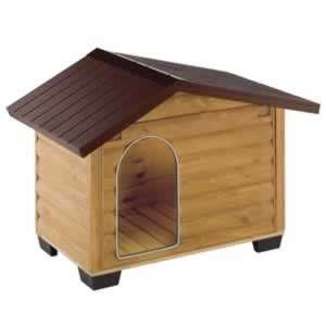 Cuccia per esterni in legno