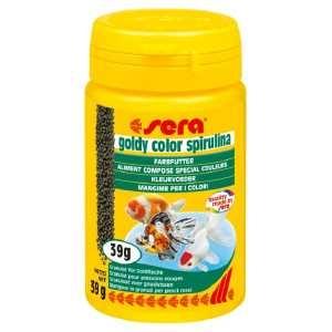 Sera - Acqua dolce - Mangimi speciali - Goldy Color Spirulina - Vari formati