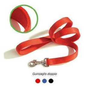 Guinzaglio Nylon Rosso - F121/01