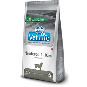 Vet Life Neutered 1-10 kg