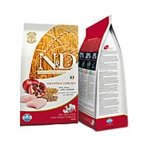 Natural & Delicious Low Ancestral Grain Puppy Maxi con Pollo e Melograno