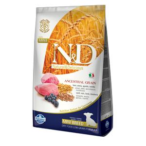 Natural & Delicious Low Ancestral Grain Puppy Mini con Agnello e Mirtillo