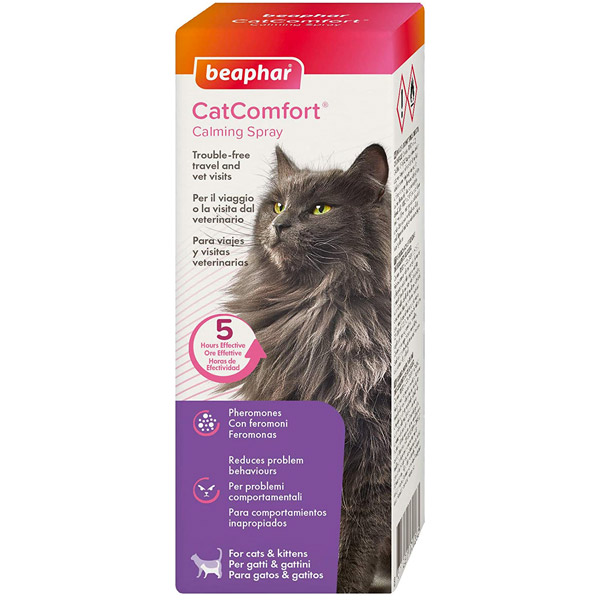 Beaphar Cat Comfort Calming Spray - 60 ml - Spray - 60 ml