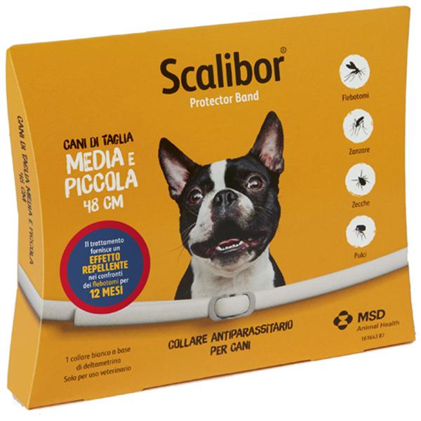 Scalibor Collare ProtectorBand MSD - Scalibor Small/Medium - da 48 cm