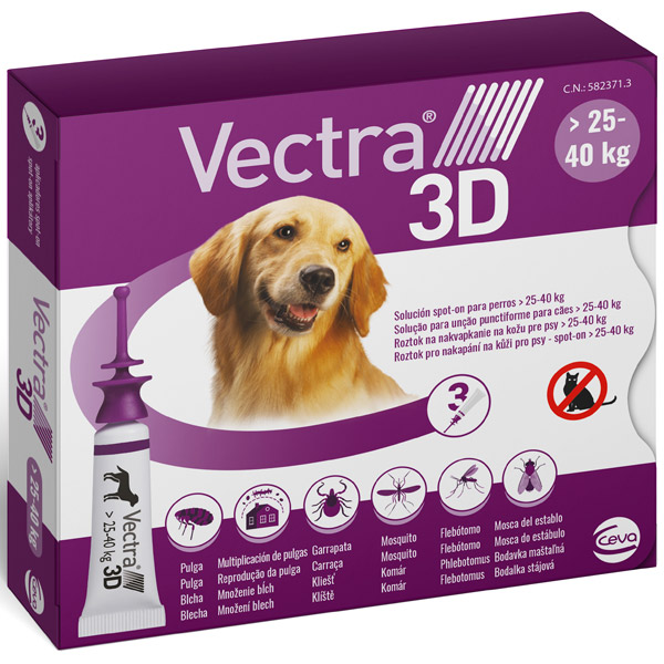 VECTRA 3D - Vectra 3D Viola per Cani 25 - 40 Kg