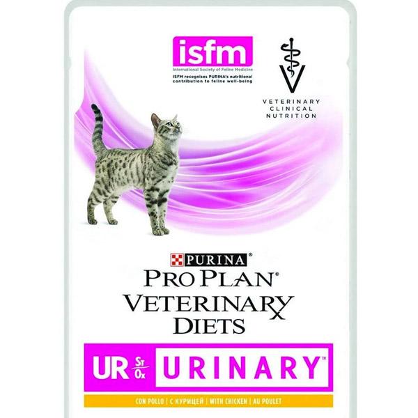 Pro Plan Veterinary Diets Urinary al Pollo - 10 Bustine da 85 gr
