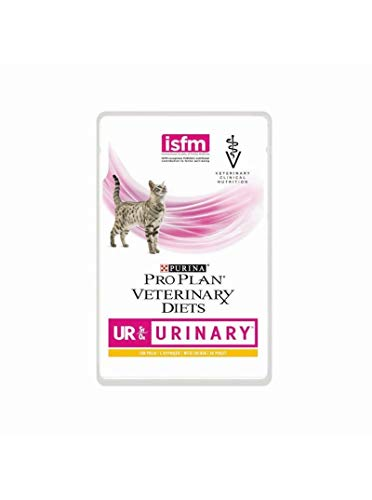 Pro Plan Veterinary Diet UR Urinary al Salmone  - 10 Bustine da 85 gr