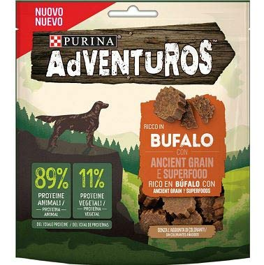 Purina Adventuros Ancient Grain Gusto Bufalo - Sacchetto da 120 gr