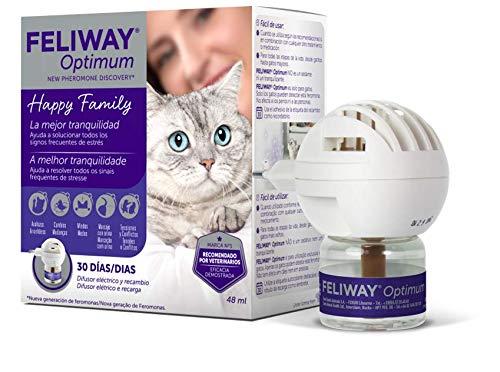 FELIWAY Optimum Diffusore+Ricambio 48 ml - Kit diffusore + ricarica