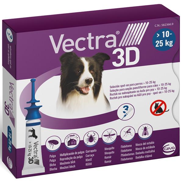 VECTRA 3D - Vectra 3D Blu per Cani 10 - 25 Kg