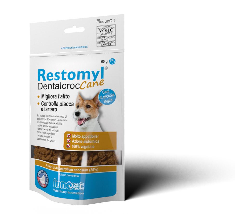 Restomyl Dentalcroc Cane - 1 Bustina 60 gr