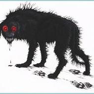 cane cadejo nero