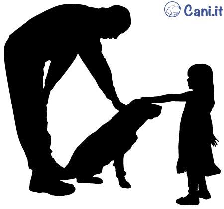 Prima di far interagire il vostro bambino con un cane estraneo insegnategli a chiedere il permesso sia al suo padrone che al cane.