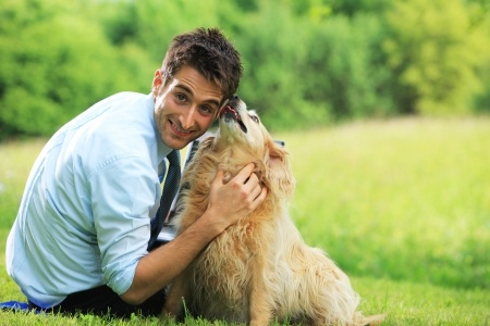 i cani intuiscono quando ti piace una persona.