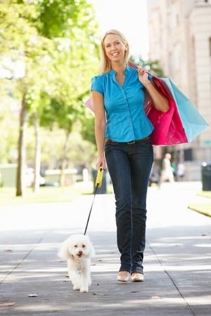 Portare il Cane a fare shopping