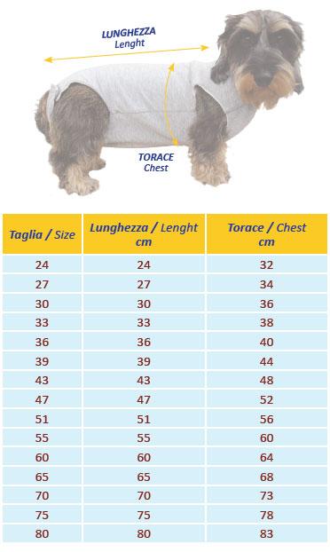 Copri Medicazioni per tronco del cane
