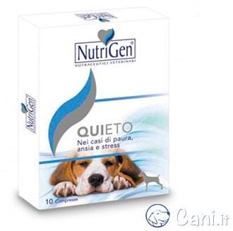Quieto. tranquillante per cani